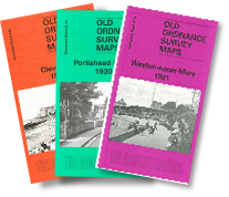 Alan Godfrey Old OS Maps - 9 available